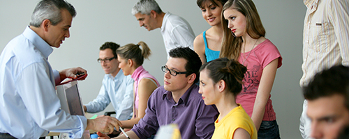 a workplace literacy class