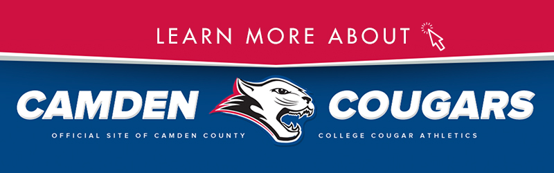 Camden County College Athletics Header