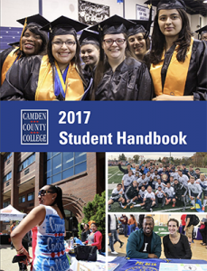 2017 Student Handbook Cover