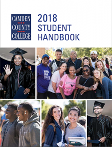 2018 Student Handbook Cover